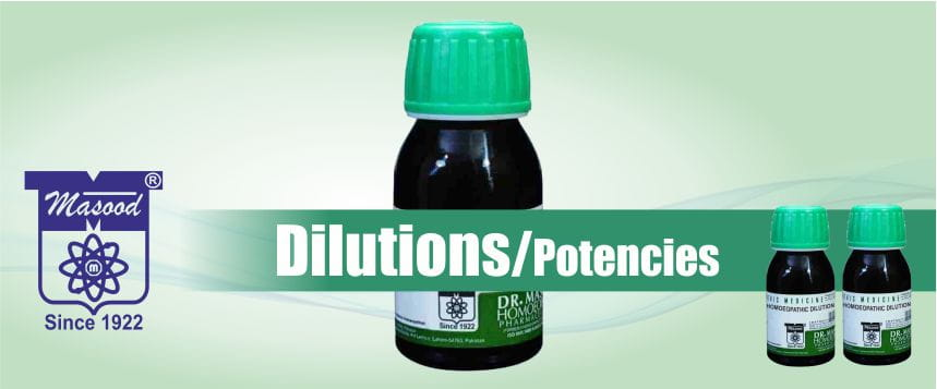 Masood Store Products (DILUTIONS-POTENCIES)