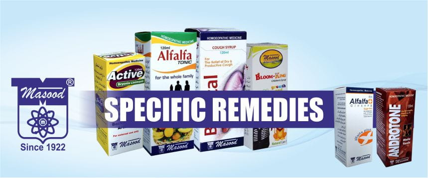 Masood Store Products (SPECIFIC REMEDIES)